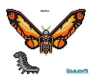 Mothra (MonsterVerse) (redesign) by Gojilion91