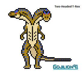 Two-Headed T-Rex by Gojilion91