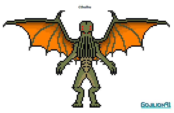 Cthulhu (redesign) by Gojilion91