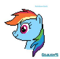Rainbow Dash by Gojilion91