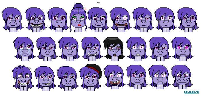 Lex's Facial Expressions