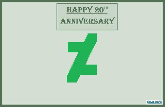 Happy 20th Anniversary