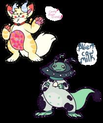 Candy Plush Alien Adopts(OTA Adopt Open)