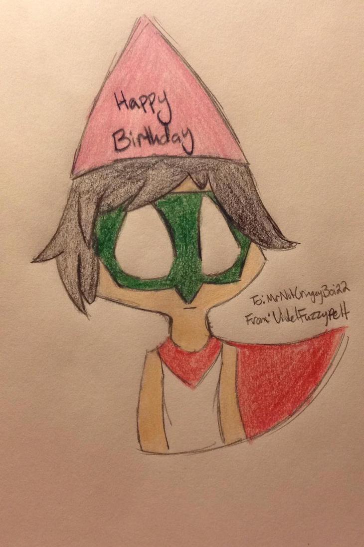Happy (Early) Birthday!! by VioletFuzzypelt