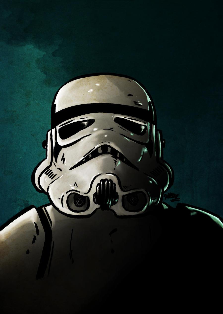 Stormtrooper by Beatrix-soleneg