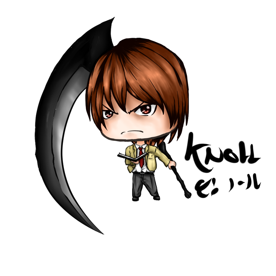 CHIBIPEDIA- Light Yagami Chibi by knoll94 on DeviantArt