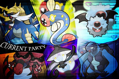 Current PKMN Black Party by Yoshisbiggestfan