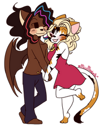 .: Lovely Couple +COMM+ :. by CottonCandyRush