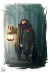 Rubeus Hagrid by Koni-art