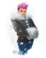 Zarya - Overwatch's Ladies Project by Koni-art