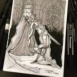 Inktober 2017 - Day06 - Sword