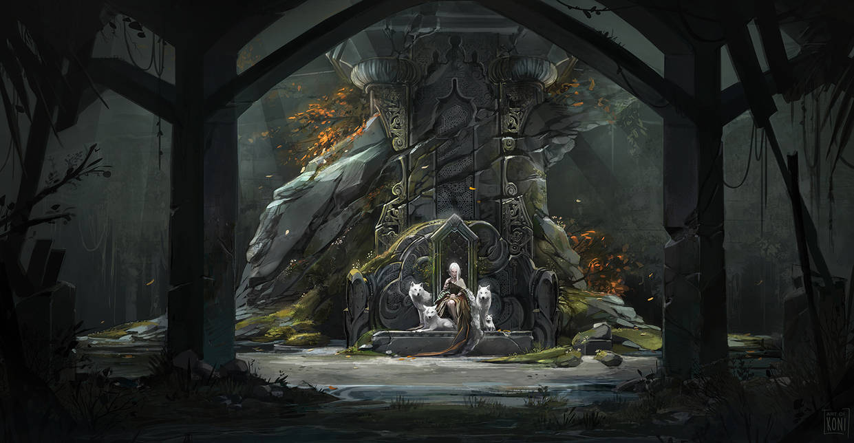 The sanctuary of the Arkh witch