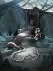 Berta, Abyssal Demon by Koni-art