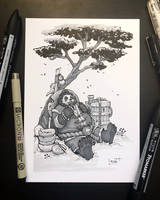 Inktober 2018 - Day17 - Swollen by Koni-art