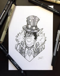 Inktober 2018 - Day22 - Expensive by Koni-art