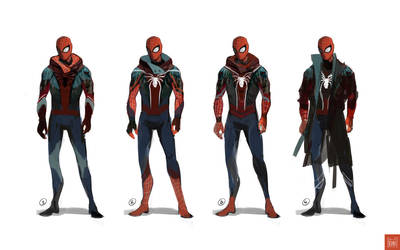 My spiderman - Concept by Koni-art