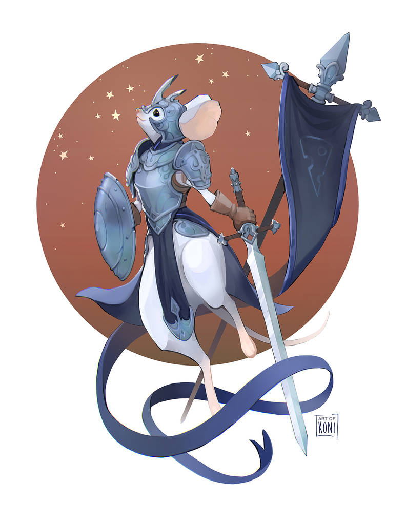 Piper, Integrity Knight of the Lunar Cheese by Koni-art