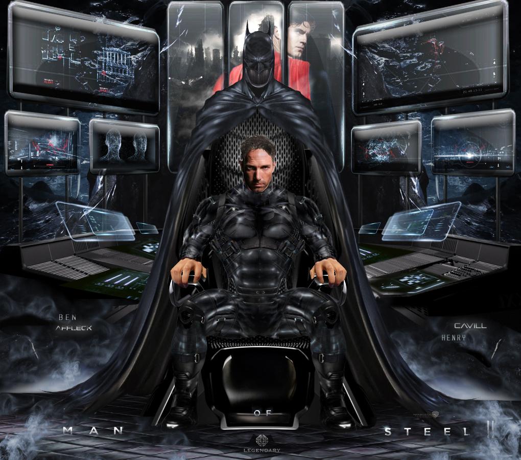 Man Of Steel 2 Batman Costume Batman Ben Affleck Con...