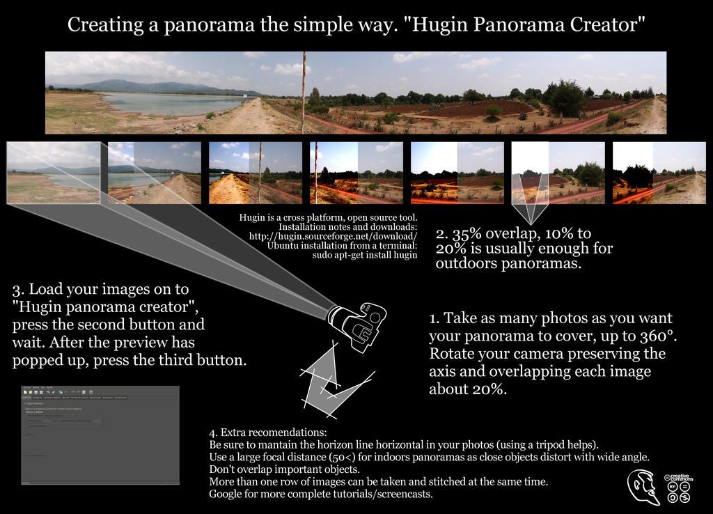 Panorama tutorial Hugin by McRos