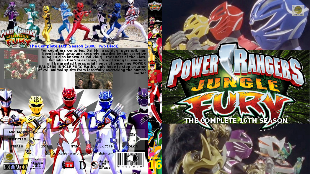 Power rangers jungle fury complete season 16 by gattison13 on power rangers jungle fury complete season 16 by gattison13 voltagebd Choice Image