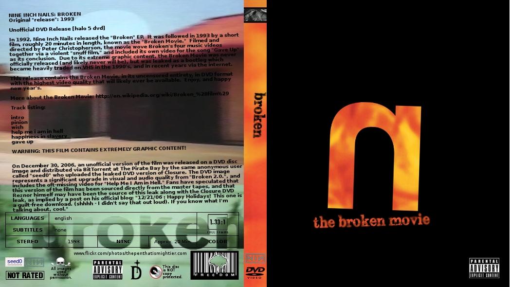 brokenmovie, NIN \'1993\' by Gattison13 on DeviantArt