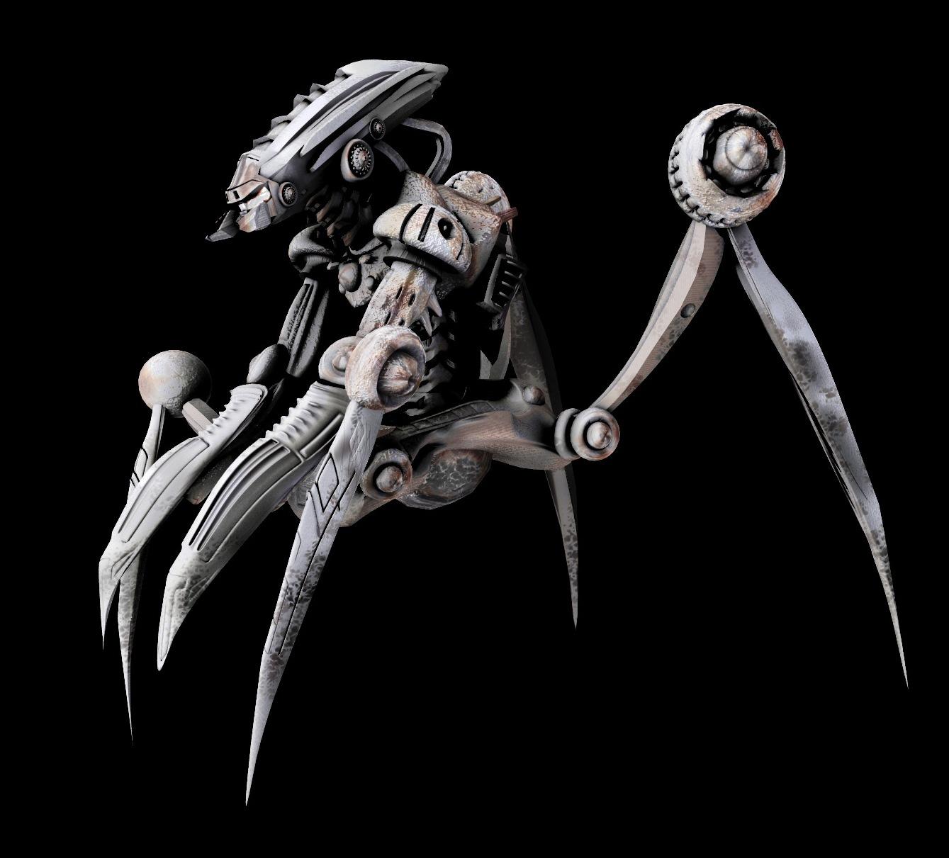 robots in alien