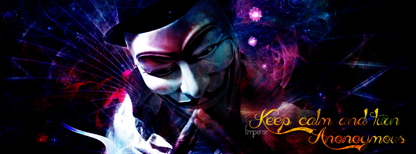 Anonymous facebook Cover pic by nir4vir on DeviantArt