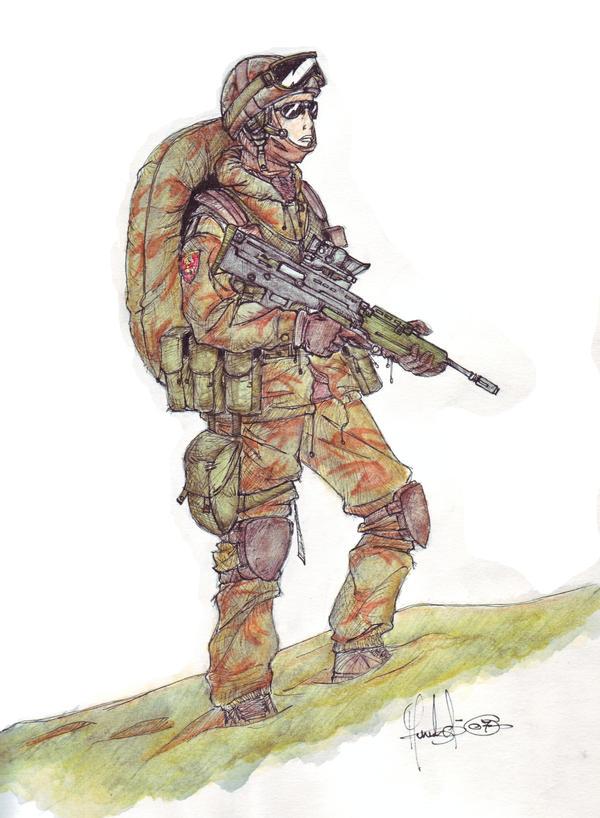 british SAS by Vaessili