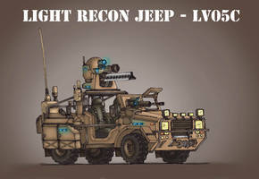 Light recon jeep by Vaessili