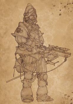 Conquistador steampunk