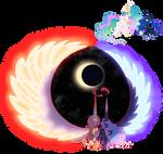 Gigantamax Celestia and Luna