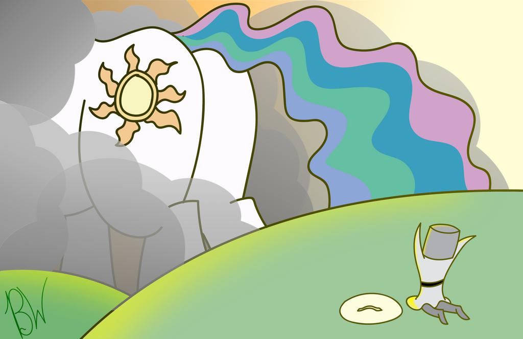 Sunbutt Praise by BelgianWaffleArt