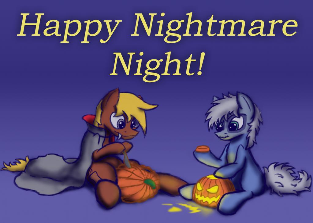 Happy Nightmare Night! by BelgianWaffleArt