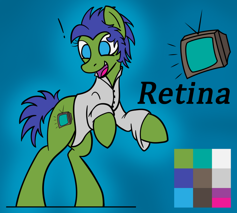 Retina Ref with a Cutie Mark by BelgianWaffleArt
