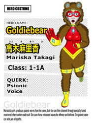 Goldiebear a.k.a. Mariska Takagi