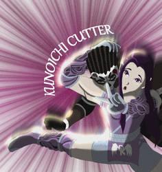 Akemi Kunoichi Cutter Close up
