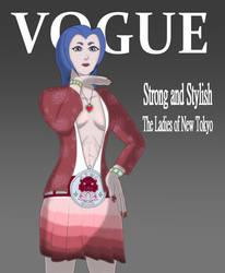 Vogue: Asuka Cover