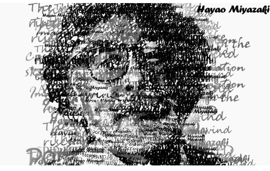 Hayao Miyazaki by M44dusk