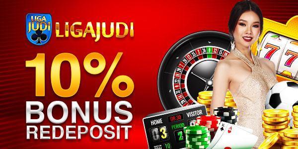 BONUS Re-Deposit 10% Agen SBOBet Liga Judi
