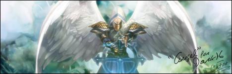 Firma Angel by FoxFray