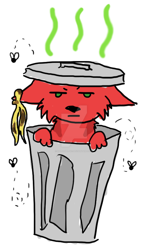 Piece O' Garbage by Naragirl007