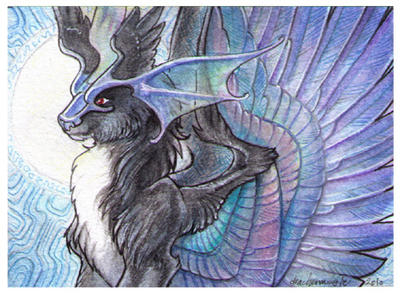ACEO - Mistress of Air by drachenmagier