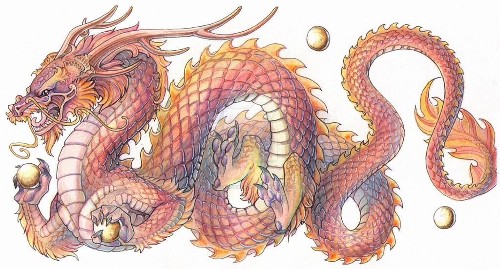 commission chinese dragon by drachenmagier on deviantart