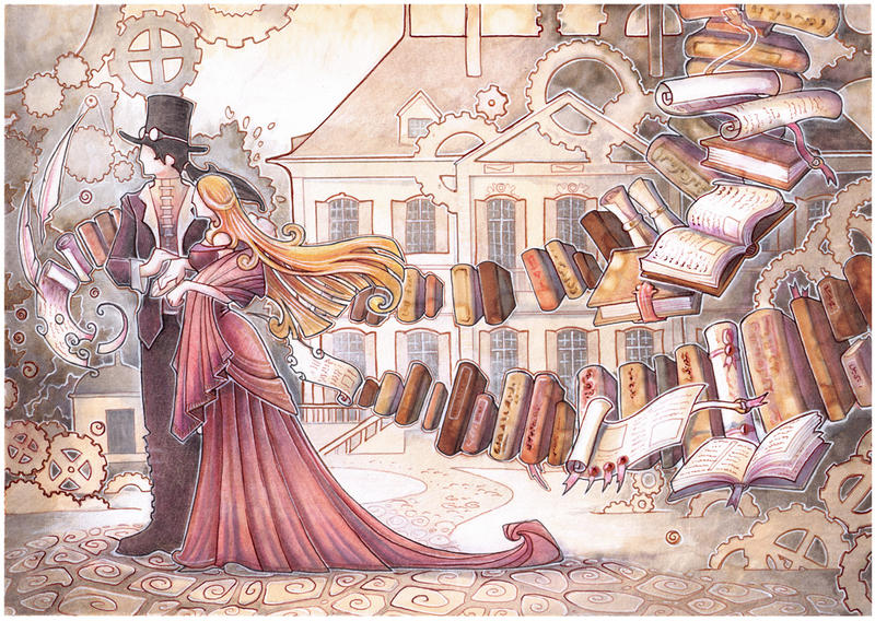 Steampunk Wedding Gift by drachenmagier