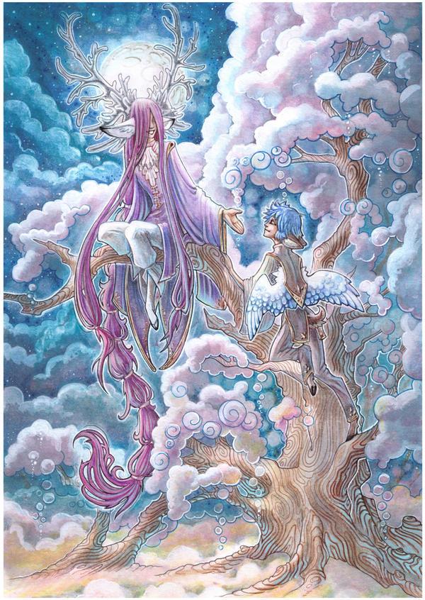 cloud-trees by drachenmagier