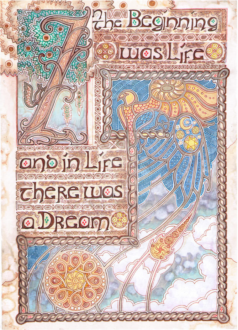 Book of Life and Dreams by drachenmagier