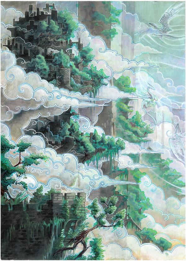 City of Pillars 2 by drachenmagier