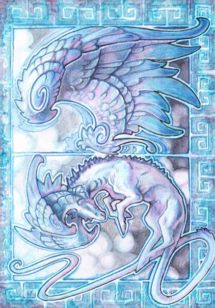 ACEO - Qirai by drachenmagier