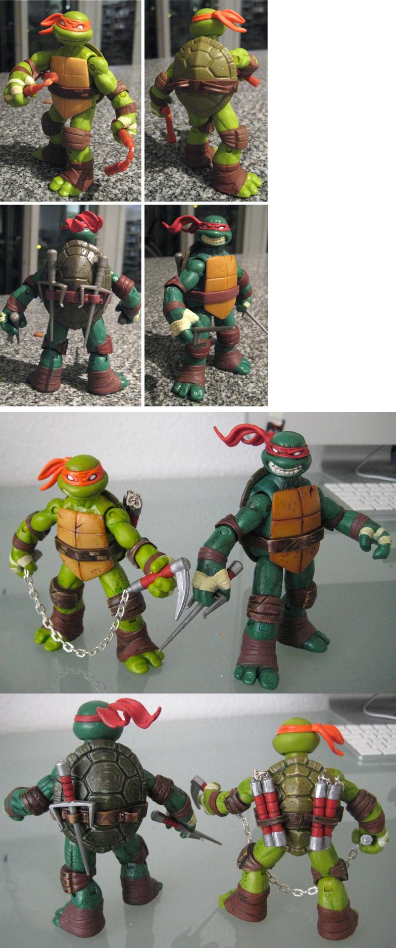 Teenage Mutant Ninja Turtles 1 (repaint) by drachenmagier