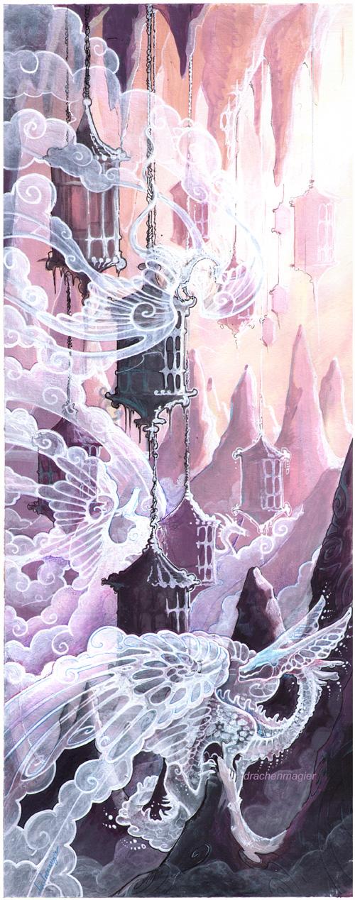 cloud dragons by drachenmagier